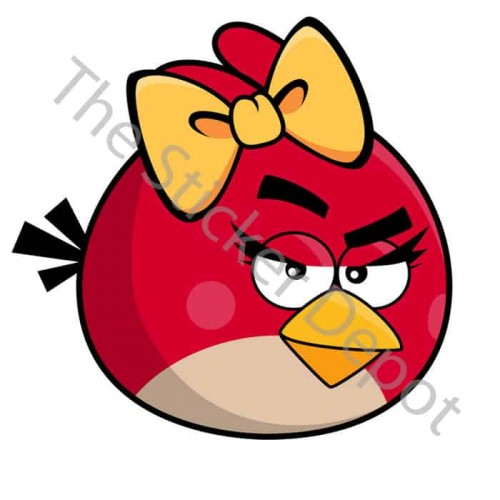 Angry Birds Female Red Bird