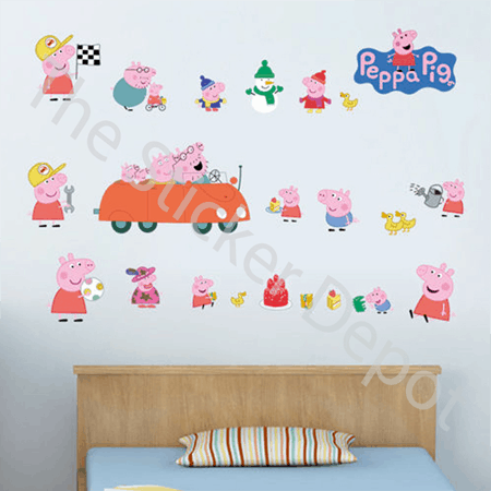 Character Wall Stickers